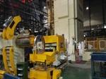 三合一送料机开平剪切落料+冲压两用自动化生产线